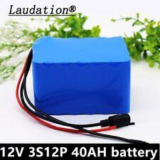 12V 40ah rechargeable 12.6V high-power LI-ion battery for inverter fishing lamp