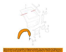 GMC GM OEM 02-09 Envoy Rear-Fender Liner Splash Shield Right 15122546