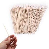 200pcs 6 inch gun cleaning cotton swabs,large tapered swabs gun clean brushBLUS