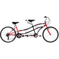 2 Seater Bicycle Two Person Tandem Bike  Double Seat Red or Green Bikes New
