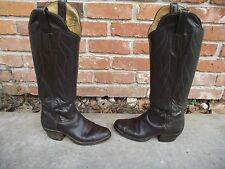 MCGLASSON COWBOY BOOTS # 288 WOMENS MENS ? 5 6 7 ? HANDMADE TALL