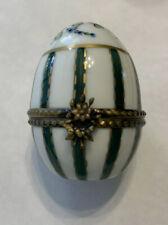 Limoges Trinket-Egg Shape Box