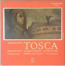 KARAJAN Puccini Tosca RCA Soria Series LD 7022 (2-LP) NM