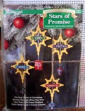 Stars of Promise by Sandra Miller Maxfield Plastic Canvas Needlepoint
