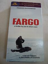 Fargo (VHS, 1999, Contemporary Classics) Frances McDormand