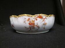 Antique A. Lanternier & Co. Limoges France Daisy Round Serving Bowl