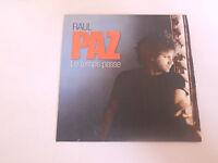 Raul Paz - le temps passe - cd single 1 titre promo