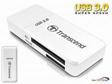 Transcend TS-RDF5W Kartenleser USB 3.0 SD SDHC SDXC microSD microSDHC UHS-1 OVP