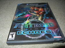 ***METROID PRIME 2 ECHOES NINTENDO GAMECUBE GAME W/ CASE***