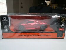 New Braha 1:24 Scale Lamborghini Sesto Elemento Red R/C Car