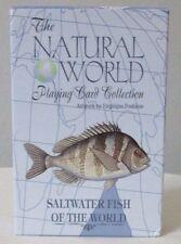 Playing Cards Stocking Stuffer Salt Water Fish Nautical Coastal Beach Design