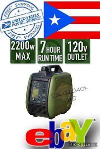 Sportsman 2,200-Watt  GASOLINE Powered Inverter FREE SHIPPING TO PUERTO RICO.