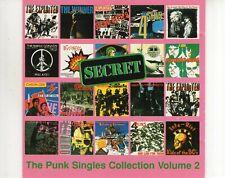 CD SECRETthe punk singles collection volume 2EX (A3006)