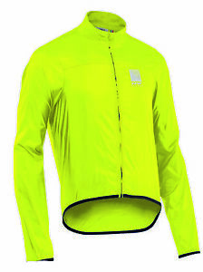 Northwave Breeze 2 Bicycle Cycle Bike Jacket Fluo Yellow