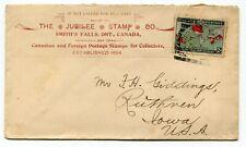 Canada ONT Ontario - Smiths Falls 1899 Squared Circle / Map Stamp / Stamp Dealer