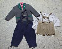 5 tlg. Jungen Kinder Trachten Konvolut in Größe 122/128 Jacke Hosen Hemden L034