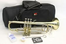 Bach Stradivarius 37 ML RAW Trumpet Professional NICE HORN AND READY