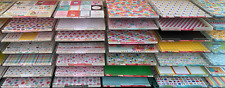 """12 Lot 12""""x12"""" Peg-able Clear Acrylic Paper Trays by Display Dynamics"""
