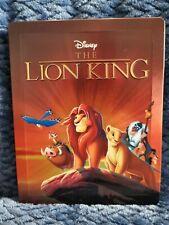 DISNEY'S THE LION KING - UK EXCLUSIVE 3D + 2D BLU RAY STEELBOOK