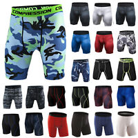Men Sport Gym Compression Base Layer Shorts Fitness Pant Tight Stretch Underwear