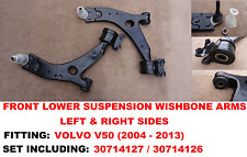 Volvo V50 (MW) 04-12 Front Lower Wishbone Suspension Track Control Arms - L & R