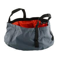 Outdoor Foldable Camping Basin Bowl Sink Washing Bag Hiking Water Light Weight