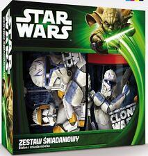 Star Wars Geschenk Set Brotdose und Trinkflasche