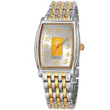 August Steiner AS8226TTG Certified 0.10G Pure Gold Ingot Bracelet Mens Watch