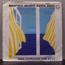 """(o) Manfred Mann's Earth Band - Lies Through The 80's (7"""" Single)"""