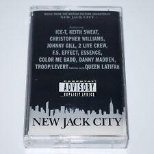New Jack City OST Cassette 90's Rap Tape R&B New Jack Swing Ice-T Latifah Levert