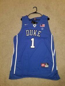 Zion Williamson Duke Blue Devils Swingman Jersey Mens Size XL...NWT Blue...White