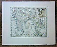 c1750 Bowen Great Empire Mogul India Thailand Siam Cambodia Tibet Nepal Antique