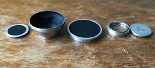 Voigtlander 125/20 push fit lens hood slip on  + caps + extras