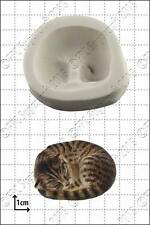 Silicone mould Sleeping Cat | Food Use FPC Sugarcraft FREE UK shipping!
