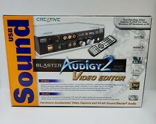 Creative Sound Blaster Audigy 2 ZS Video Editor - Brand New in Box