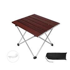 Portátil Mesa Plegable De Camping Aluminio Cocina De Fiesta De Picnic Jardín Al Aire Libre