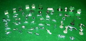 60+ Game Pieces Token's Metal Monopoly Clue Scene It disney potter Great Variety