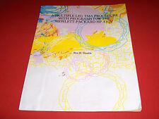 1983PUBLICATION HEWLETT PACKARD HP 41CV MULTIPLE LEG TMA PROCEDURE WITH PROGRAMS