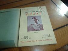 Livre l'art et les artistes, Corot, n°150, octobre 1934, Dayot / Mauclair
