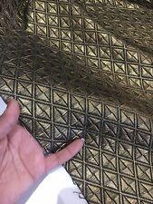 Brokatstoff Brokat metallic Stoff Korsagenstoff Dirndlstoff Gewandung*KT2665