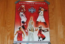 2011 WASHINGTON MYSTICS WNBA AUTOGRAPHED SIGNED POSTER