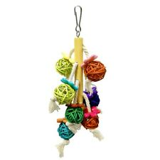 Wood Large Rope Cave Ladder Chew Toy Parrot Pet Bird Chew Hang Toys Pet Gifts