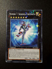 NUMERO 7: SEQUENZA FORTUNATA SP14-IT027  I Ed.  ITA  - YGO YUGIOH YU-GI-OH [MF]