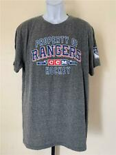 New New York Rangers Mens Size XL Gray CCM Shirt