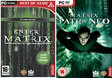 Enter The Matrix & The Matrix Path Of Neo Nuevo Y Sellado