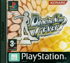 Dancing Stage Fever Sony Playstation 1 PS1 3+ Music Game