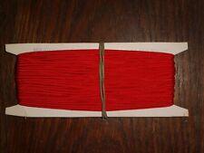 (0,40€/m) rot Soutache/Litze, Höhe ca. 0,3cm 50m auf der Pappe DDR OPEW