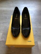 Fendi Black Wedges Size 35
