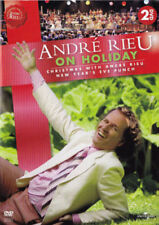 ANDRÉ RIEU ON HOLIDAY CHRISTMAS WITH ANDRE RIEU+NEW YEARS EVE PUNCH 2-DVD Set R0