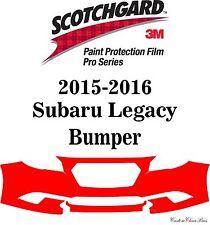 3M Scotchgard Paint Protection Film Pro Series Fits 2015 2016 Subaru Legacy